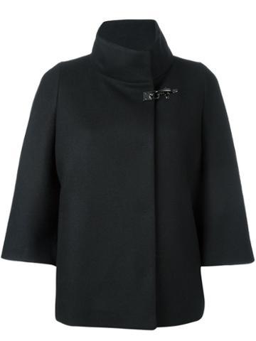 Fay Short Cape Coat