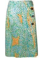 Marni Goma Patterned Skirt - Gold