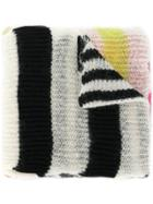 Mcq Alexander Mcqueen Striped Scarf - Multicolour