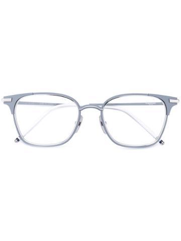 Thom Browne - Square Glasses - Men - Acetate/metal - 51, Grey, Acetate/metal