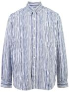 Holiday Striped Shirt - Blue