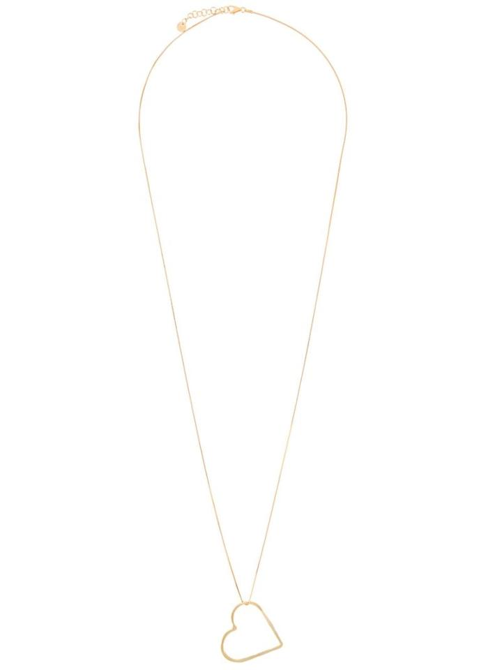 Seeme Medium Heart Long Necklace