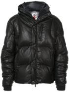 Kru Hooded Padded Coat - Black