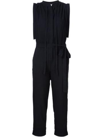 Malia Mills Creased Shoulders Jumpsuit