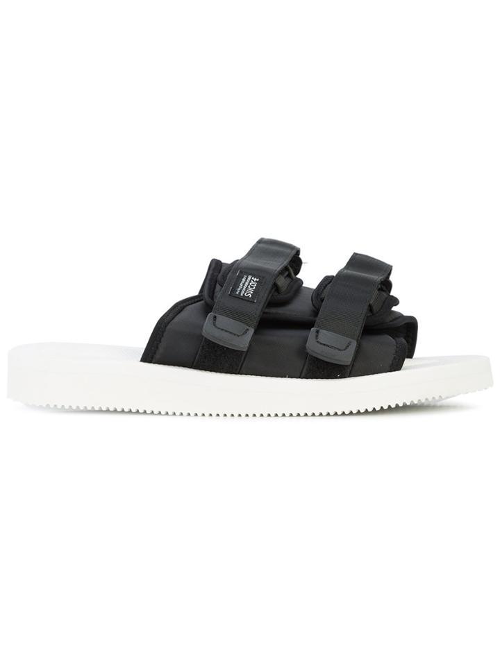 b61ac952c320 Suicoke John Elliott X Suicoke Sandals - Black