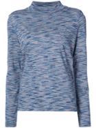 A.p.c. Funnel-neck Top - Blue