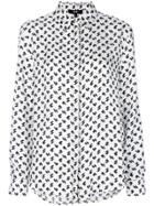 Versus Printed Shirt - White