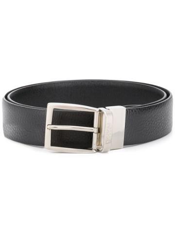 Canali Polished Buckle Belt - Brown