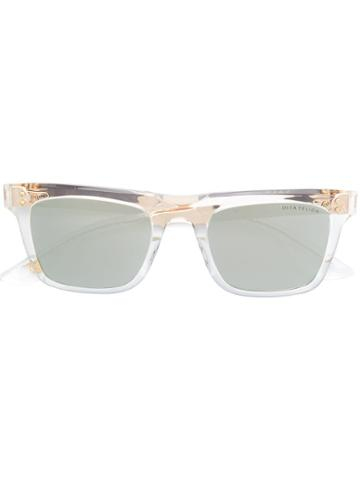 Dita Eyewear Square Tinted Sunglasses - Gold