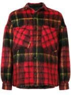 Represent Checked Shirt - Red