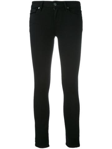 Paige - Skinny Jeans - Women - Cotton/polyester/spandex/elastane/rayon - 24, Black, Cotton/polyester/spandex/elastane/rayon