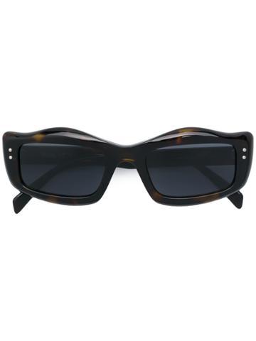 Moschino Eyewear Ergonomic Square Sunglasses - Brown