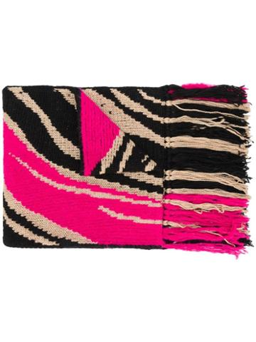 Just Cavalli Knitted Scarf - Pink