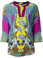 Etro Printed Kimono Top
