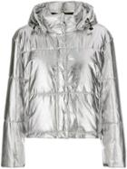 Msgm Padded Jacket - Grey