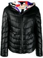Emilio Pucci Hooded Puffer Jacket - Black