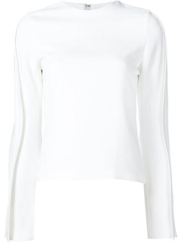 Brandon Maxwell 'wave' Blouse