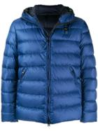 Blauer Hooded Puffer Jacket - Blue