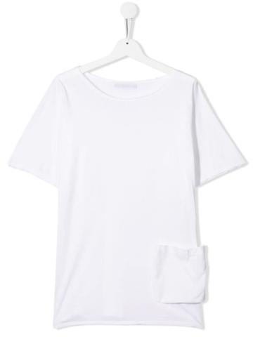 Little Creative Factory Kids Teen Classic T-shirt Dress - White