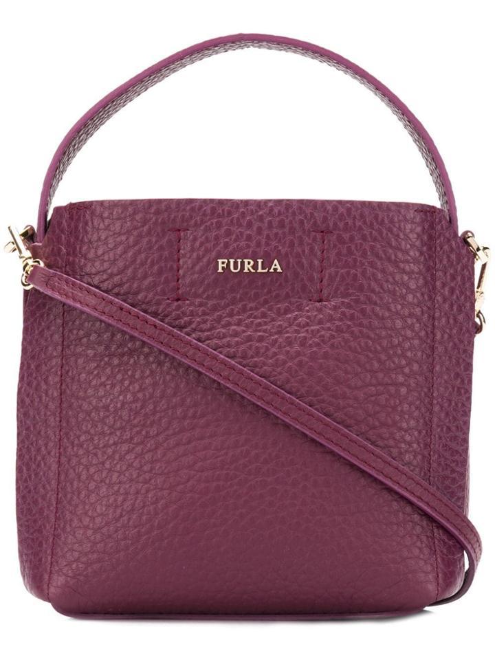 Furla Capriccio Tote Bag - Purple