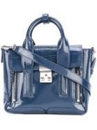 3.1 Phillip Lim Mini Pashli Satchel, Women's, Blue, Leather/metal
