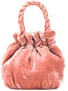 Staud Grace Bucket Bag - Pink & Purple