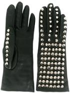 Manokhi Stud-detail Gloves - Black