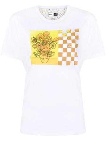 Vans Van Gogh Sunflower T-shirt - White