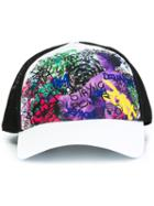 Dsquared2 'dean & Dan' Graffiti Baseball Cap, Men's, Cotton/polyester