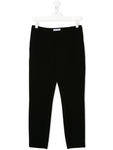 Dondup Kids Slim Fit Trousers - Black