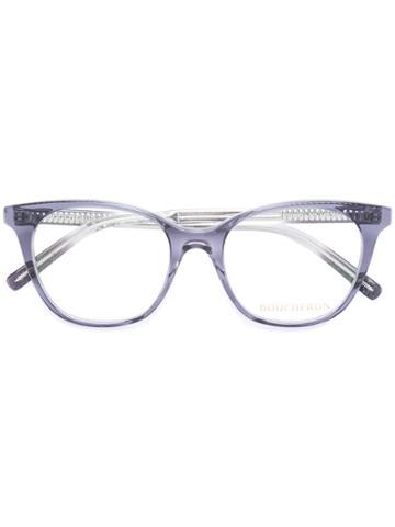 Boucheron Cat Eye Glasses - Blue