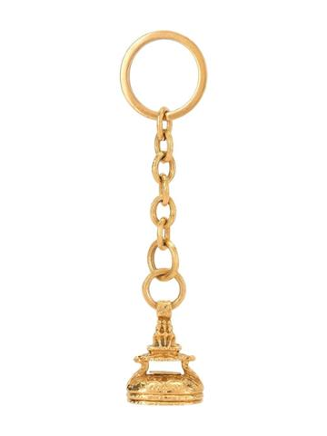 Chanel Pre-owned 1993 Autumn Keyring - Gold