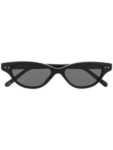 Linda Farrow X Alessandra Ambrosio Sunglasses - Black