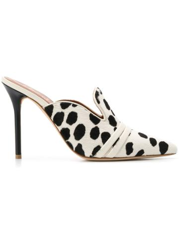 Malone Souliers By Roy Luwolt Hayley Mules - White