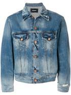 Diesel Washed Denim Jacket - Blue