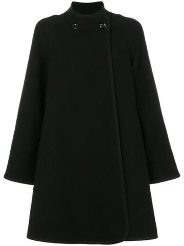 Chloé Cape Coat - Black