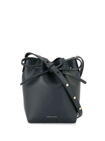 Mansur Gavriel Mini Mini Bucket Bag - Blue