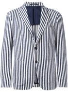 Tagliatore Striped Blazer - Blue