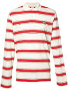 Stella Mccartney - Striped Polo Shirt - Men - Cotton - M, White, Cotton