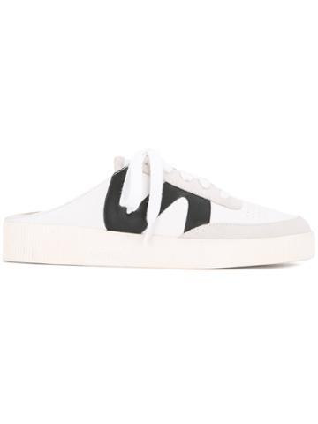 Senso Heelless Slide-on Sneakers - White