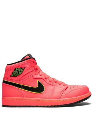 Jordan Wmns Air Jordan 1 Retro Prem Sneakers - Pink