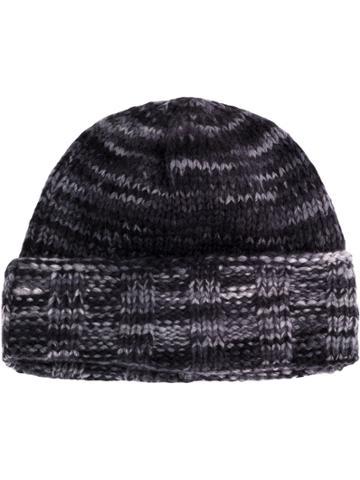 The Elder Statesman Classic Knitted Beanie Hat - Grey