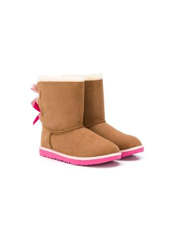 Ugg Australia Kids Teen Bailey Bow Ii Boots - Brown