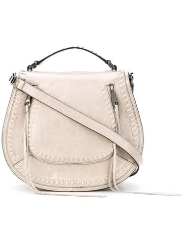 Rebecca Minkoff - Antique Effect Crossbody Bag - Women - Leather/polyester - One Size, Grey, Leather/polyester