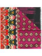 Etro Multiple Prints Scarf, Women's, Cashmere