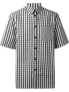 Givenchy Gingham Checked Shirt