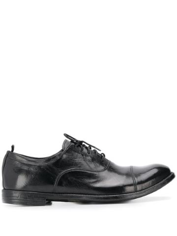 Officine Creative Nero Black Oxford Shoes