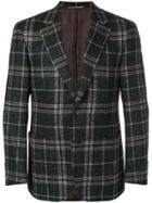 Canali Plaid Jacket - Grey