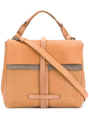 Officine Creative Seurat Satchel - Brown