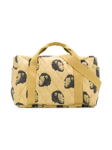 Moumout Lion Print Changing Bag - Neutrals